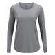 Peak Performance Epic - Camiseta de manga larga Mujer - gris